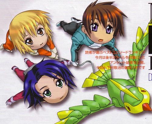 Hisashi Hirai, Sunrise (Studio), Mobile Suit Gundam SEED, Kira Yamato, Torii (Gundam SEED)