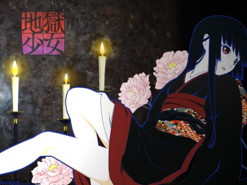 Studio DEEN, Jigoku Shoujo, Ai Enma Wallpaper