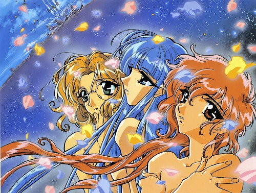 CLAMP, TMS Entertainment, Magic Knight Rayearth, Hikaru Shidou, Umi Ryuuzaki