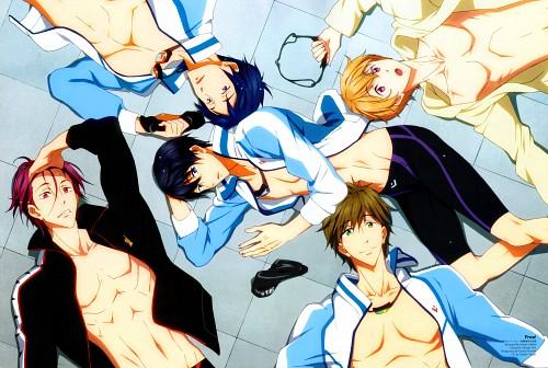 Makita Masaya, Kyoto Animation, Free!, Makoto Tachibana, Haruka Nanase (Free!)