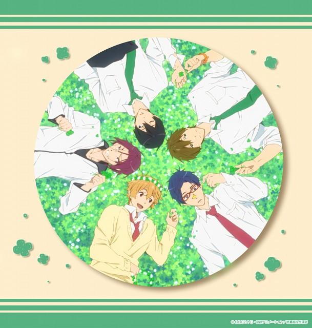 Kyoto Animation, Free!, Rei Ryuugazaki, Nagisa Hazuki, Makoto Tachibana