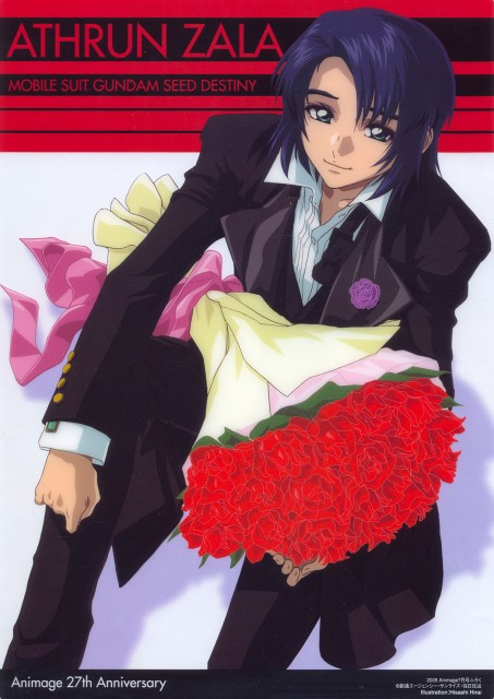 Hisashi Hirai, Sunrise (Studio), Mobile Suit Gundam SEED Destiny, Athrun Zala, Animage