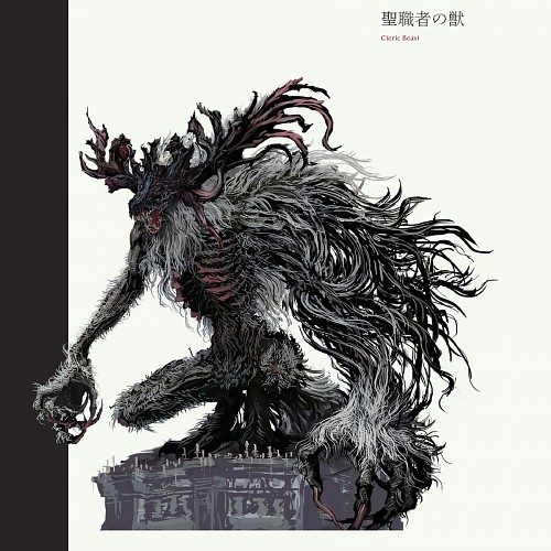 FromSoftware, Sony Computer Entertainment Inc, Bloodborne, Cleric Beast, Official Digital Art