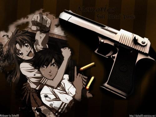 Gonzo, Full Metal Panic!, Kaname Chidori, Sousuke Sagara Wallpaper