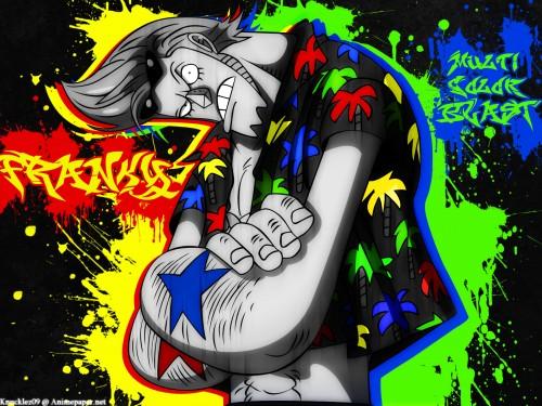Eiichiro Oda, Toei Animation, One Piece, Franky Wallpaper