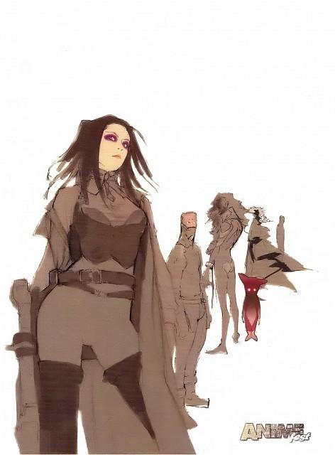 Manglobe, Geneon/Pioneer, Ergo Proxy, Re-l Mayer, Ergo Proxy (Character)