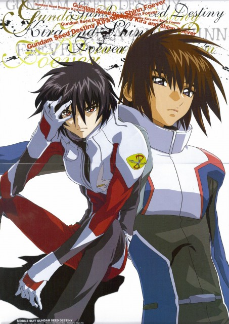 Sunrise (Studio), Mobile Suit Gundam SEED Destiny, Shinn Asuka, Kira Yamato, Animage
