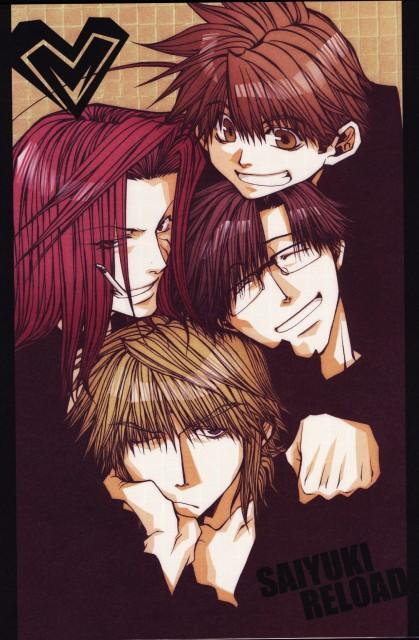 Kazuya Minekura, Studio Pierrot, Saiyuki, Salty Dog V, Son Goku (Saiyuki)
