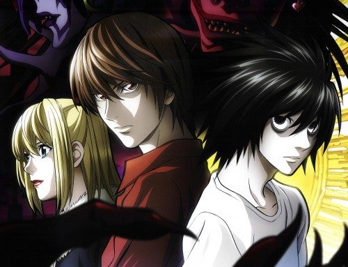 Madhouse, Death Note, Light Yagami, Ryuk, Rem