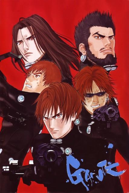 Hiroya Oku, Gantz, Hiroto Sakurai, Kei Kurono, Kenzo Sakata