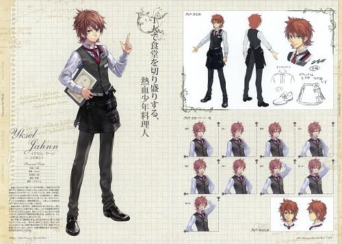 Mel Kishida, Gust, Atelier Rorona, Yksel Jahnn, Character Sheet