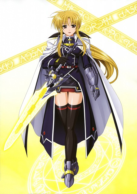 Yukari Higa, Mahou Senki Lyrical Nanoha Force, NYAN-TYPE 100% Illustrations Collection, Fate Testarossa