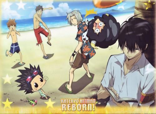 Akira Amano, Artland, Katekyo Hitman Reborn!, Tsunayoshi Sawada, Lambo