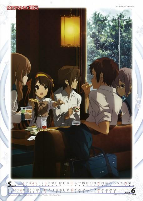 Touko Takao, Kyoto Animation, The Melancholy of Suzumiya Haruhi, Suzumiya Haruhi No Shoushitsu 2011 Calendar, Mikuru Asahina