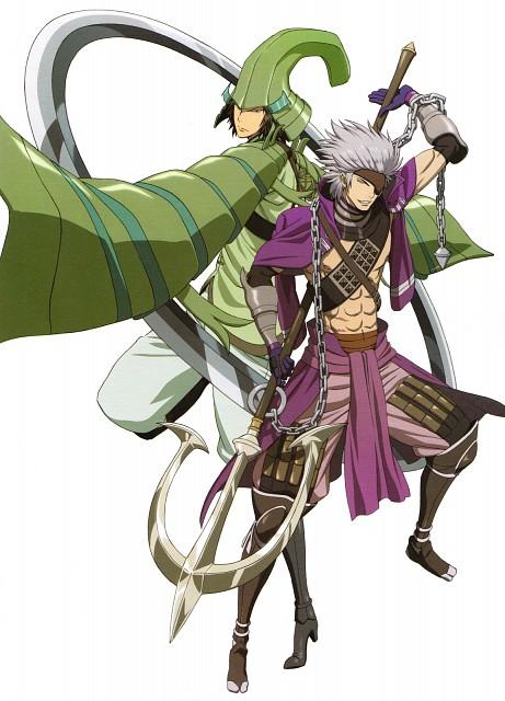 Makoto Tsuchibayashi, Production I.G, Capcom, Sengoku Basara, Motonari Mouri