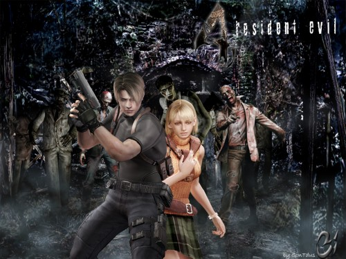 Capcom, Resident Evil 4, Leon S. Kennedy, Ashley Graham Wallpaper