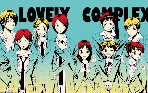 Aya Nakahara, Toei Animation, Lovely Complex, Haruka Fukagawa, Risa Koizumi Wallpaper