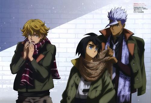 Sunrise (Studio), Mobile Suit Gundam: Iron-Blooded Orphans, Orga Itsuka, Mikazuki Augus, Otomedia