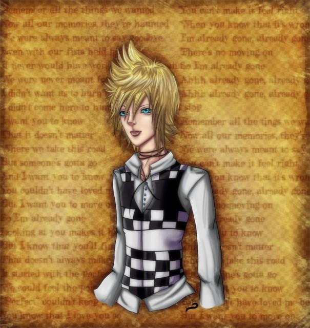 Kingdom Hearts, Roxas, Member Art