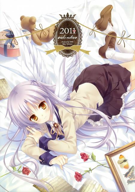 WNB Mark, Key (Studio), Angel Beats!, Kanade Tachibana, Calendar