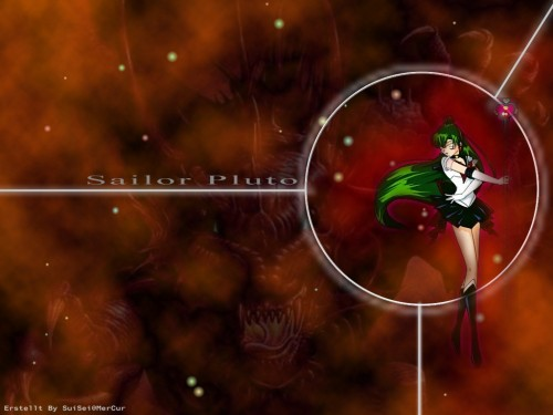 Toei Animation, Bishoujo Senshi Sailor Moon, Sailor Pluto Wallpaper