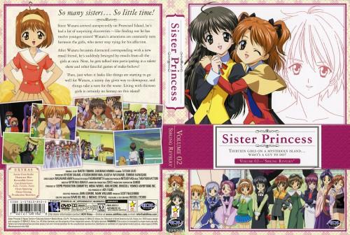 Naoto Tenhiro, Sister Princess, Marie (Sister Princess), Shirayuki, Sakuya