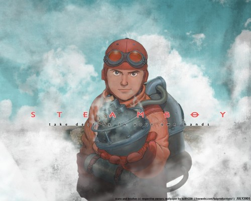 Yu Kinutani, Studio 4°C, Sunrise (Studio), Steamboy, James Ray Steam Wallpaper