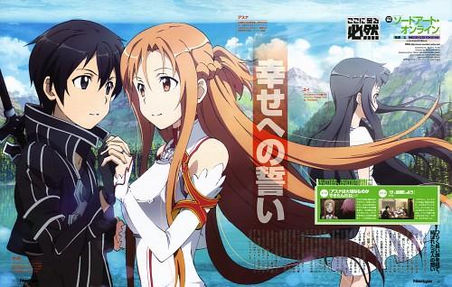 Kento Toya, A-1 Pictures, Sword Art Online, Kazuto Kirigaya, Yui (Sword Art Online)