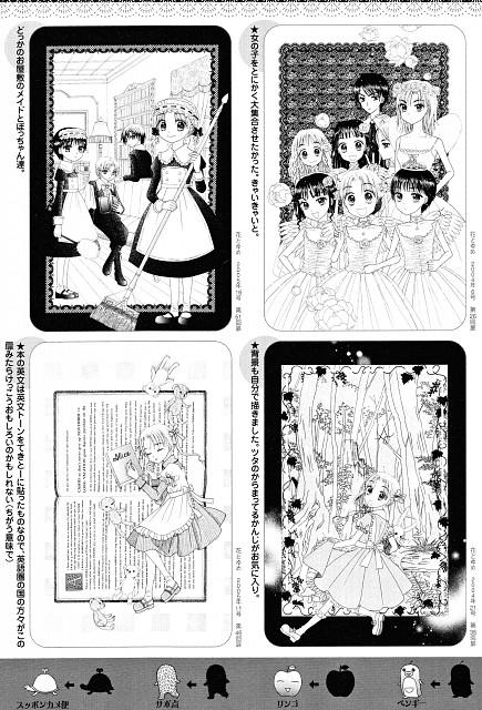 Tachibana Higuchi, Gakuen Alice, Gakuen Alice Illustration Fan Book, Anna Umenomiya, Misaki Harada