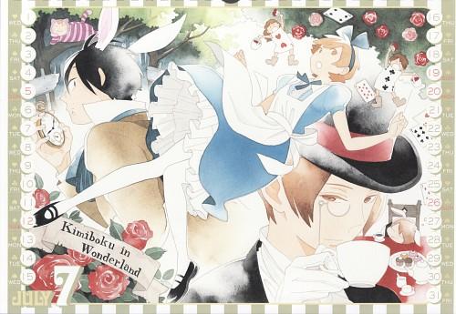 Kiichi Hotta, J.C. Staff, Kimi to Boku, Kimi to Boku Calendar 2015, Chizuru Tachibana