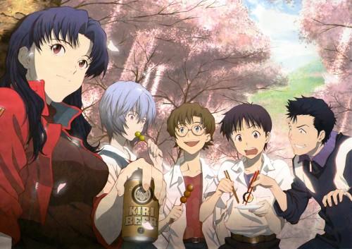 Yoshiyuki Sadamoto, Gainax, Neon Genesis Evangelion, Misato Katsuragi, Rei Ayanami