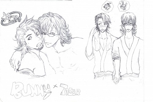 Sunrise (Studio), Tiger and Bunny, Barnaby Brooks Jr., Kotetsu T. Kaburagi, Member Art