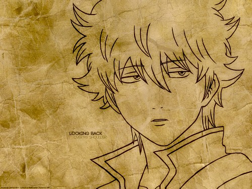 Hideaki Sorachi, Sunrise (Studio), Gintama, Gintoki Sakata, Vector Art Wallpaper