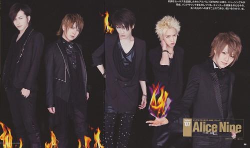 Saga (J-Pop Idol), Hiroto, Alice Nine, Nao, Shou