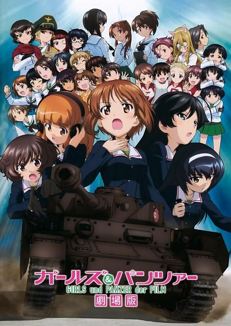 Actas, GIRLS und PANZER, Moyoko Gotou, Hana Isuzu, Sono Midoriko