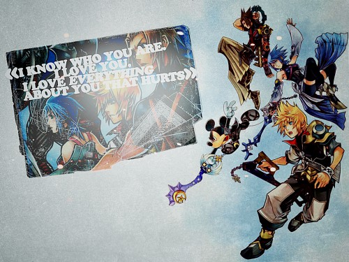 Square Enix, Kingdom Hearts, Aqua (Kingdom Hearts), Mickey Mouse, Ventus Wallpaper