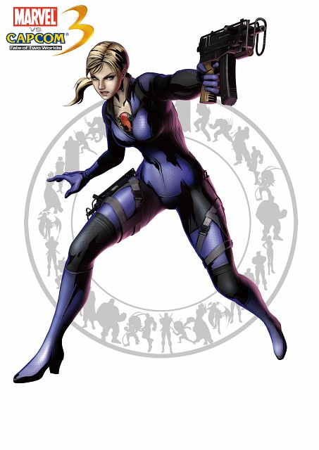 Capcom, Marvel vs Capcom 3, Jill Valentine, Official Digital Art