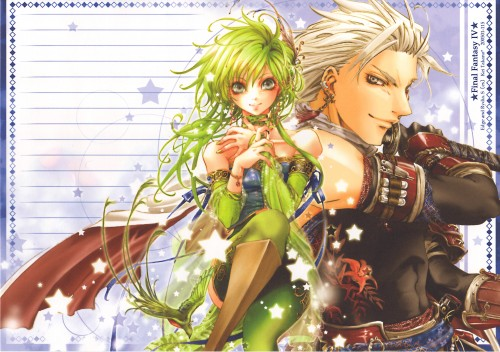 Square Enix, Final Fantasy IV, Rydia, Edge