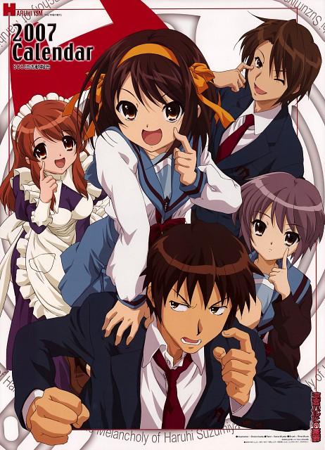 Shouko Ikeda, Kyoto Animation, The Melancholy of Suzumiya Haruhi, Suzumiya Haruhi No Yuutsuu 2007 Calendar, Haruhi Suzumiya