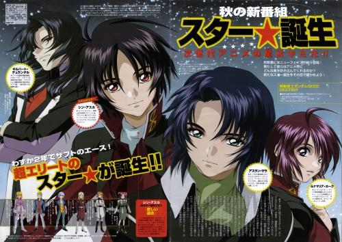 Sunrise (Studio), Mobile Suit Gundam SEED Destiny, Shinn Asuka, Gilbert Durandal, Athrun Zala