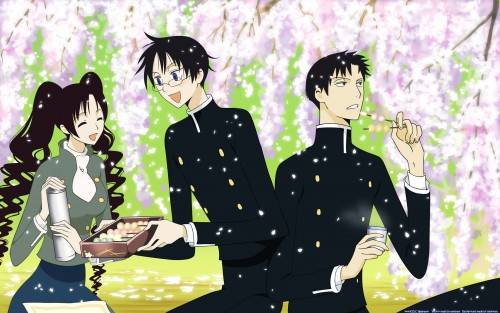 CLAMP, Production I.G, xxxHOLiC, Himawari Kunogi, Kimihiro Watanuki Wallpaper