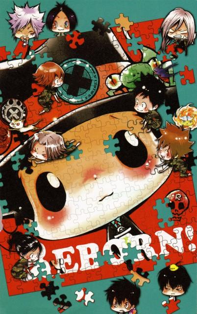 Akira Amano, Katekyo Hitman Reborn!, Colore!, Reborn (Character), Haru Miura