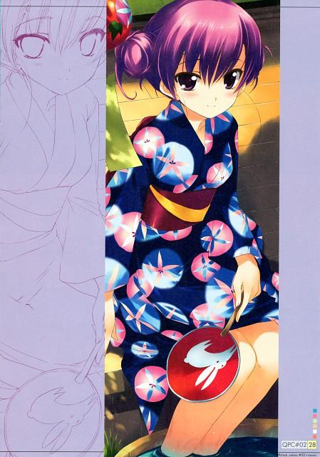 Koharu Sakura, AQUAPLUS, QP:flapper, Qpchick Colors #02, To Heart 2
