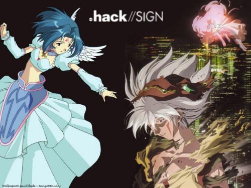 Yoshiyuki Sadamoto, Bee Train, .hack//SIGN, Subaru, Tsukasa Wallpaper