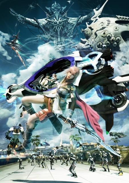 Square Enix, Final Fantasy XIII, Lightning (FF XIII), Snow Villiers, Serah Farron