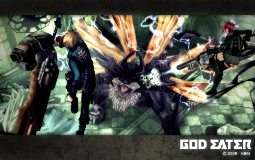 Namco, God Eater, Official Wallpaper