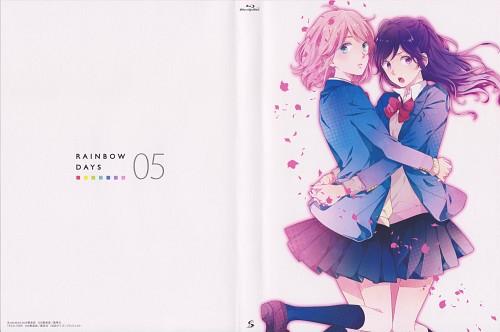 Minami Mizuno, Nijiiro Days, Mari Tsutsui, Anna Kobayakawa, DVD Cover