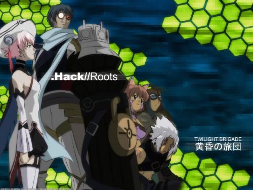 Yoshiyuki Sadamoto, .hack//G.U., Sakisaka, Tabby (.hack), Ovan Wallpaper