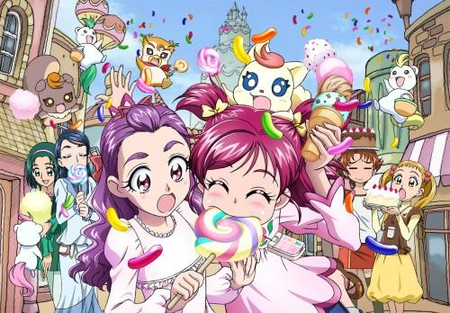 Toei Animation, Yes! Precure 5, Urara Kasugano, Natts, Komachi Akimoto