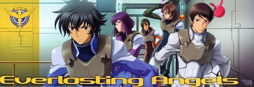 Mobile Suit Gundam 00, Lockon Stratos, Haro, Setsuna F. Seiei, Saji Crossroad